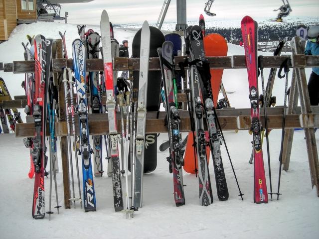 スキー板②
