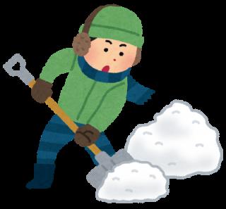 都会での雪かきスコップを選ぶ時の注意点!