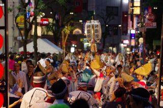 神楽坂まつりの日程!阿波踊りにほおずき市にグルメ屋台と盛りだくさん!