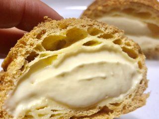 生クリームのみのシュークリームのカロリーは動物性と植物性で違うの?