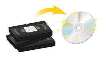 古いビデオテープをデジタル化するには? SDカードやブルーレイに保存するには?